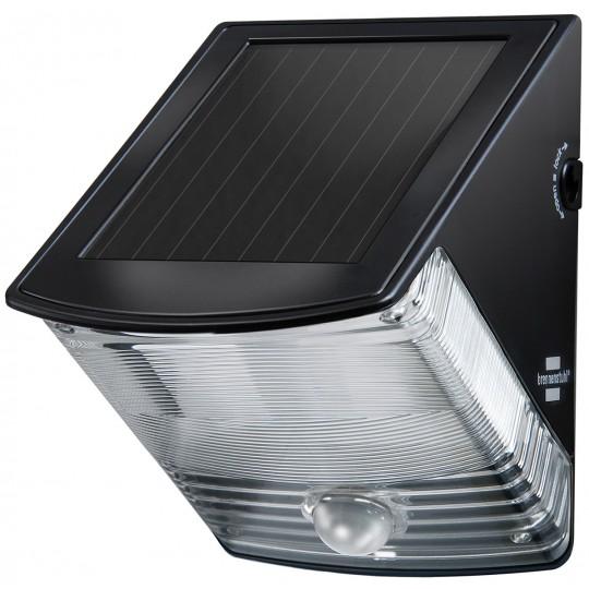 Brennenstuhl Solar LED-Wandleuchte SOL 04 plus IP44 mit Bewegungsmelder 2xLED 85lm 2x0,5W Farbe schwarz