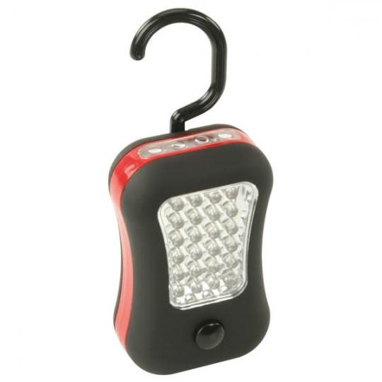 HyCell LED Werkstattlampe 2in1 mit Haken & Magnet, 45 Lumen, inkl AAA Batterien
