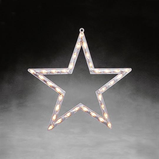 Konstsmide 2164-010 LED Fensterbild Stern