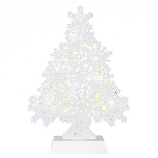 "Best Season 270-55 - LED Fensterleuchter ""Snowflake Tree"""