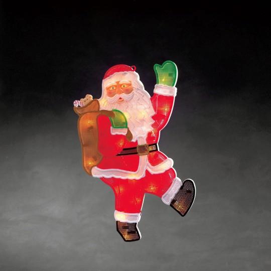 Konstsmide 2850-010 LED Fensterbild Weihnachtsmann