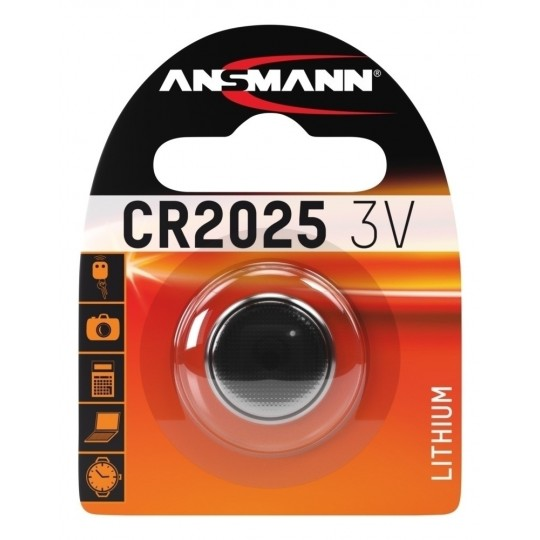 Lithium Knopfzelle CR2025 - Verpackung
