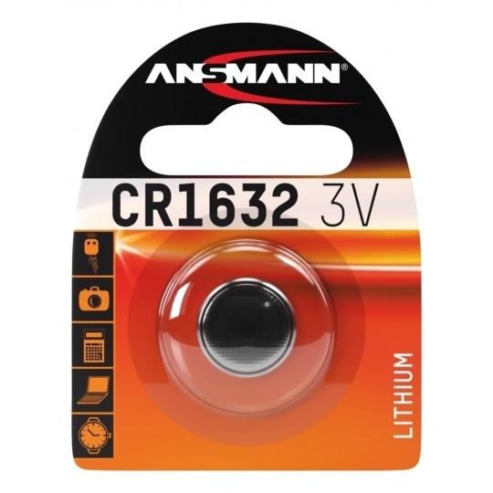 Lithium Knopfzelle CR1632  - Verpackung