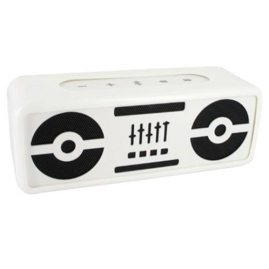 BeeWi BBS305A1 BlasterBee Bluetooth Mini Stereo-Lautsprecher (2x 2,5 Watt) wei&szlig
