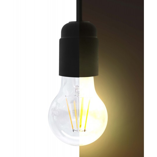 6W LED Filament Lampe - warmweiß - E27