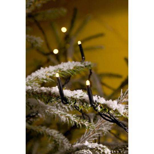 Konstsmide 3611-140 Micro LED Lichterkette mit Funkeleffekt, 80 ww LED weihnachtsdeko