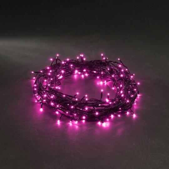 Konstsmide 3627-340 Micro LED Lichterkette 40 pinke Dioden weihnachtsdeko