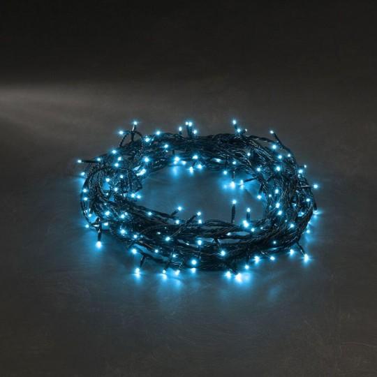 Konstsmide 3627-440 Micro LED Lichterkette 40 Lichter hellblau weihnachtsdeko