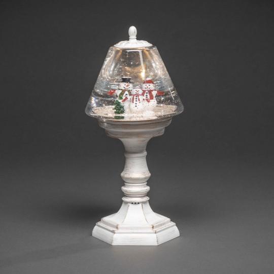 Konstsmide 4378-200 LED Tischleuchte mit Schneemann weihnachtsdeko
