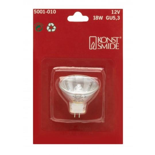 Konstsmide 5001-010 Halogen Leuchtmittel, Reflektor GU5,3 12V, 18W weihnachtsdeko