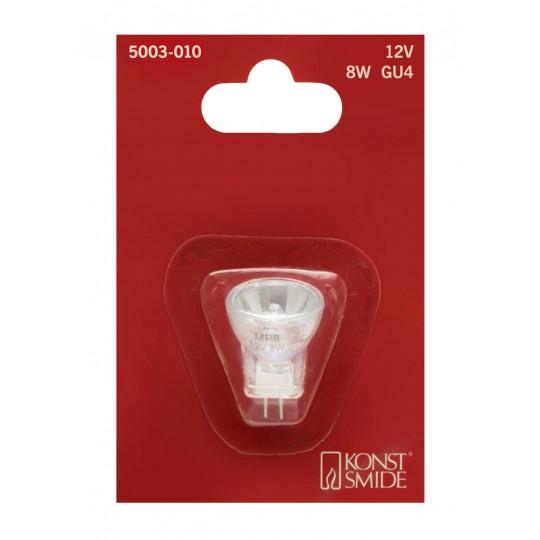 Konstsmide 5003-010 Halogen Leuchtmittel, Reflektor GU4, 12V, 8W  weihnachtsdeko