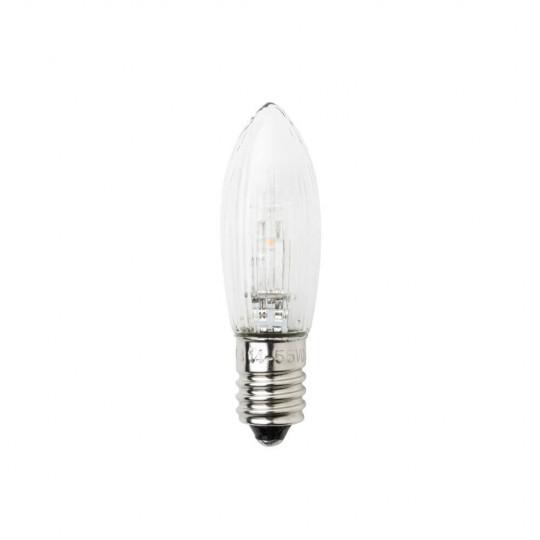 Konstsmide 5072-730 LED Ersatzbirne universal, 6V/ 0,2W, E10
