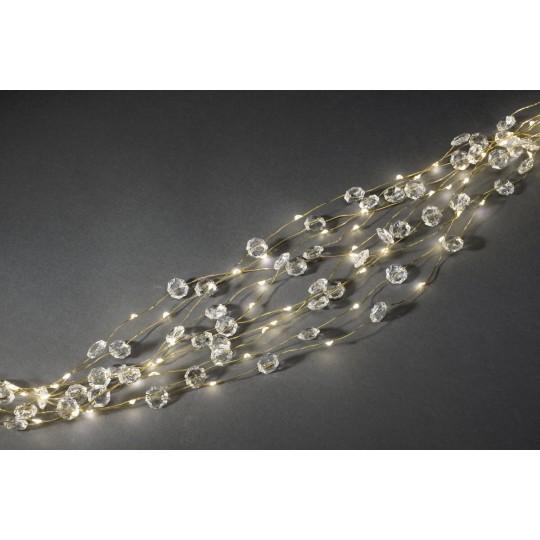 Konstsmide 6393-180 Diamanten Lametta 26 Straenge gold weihnachtsdeko