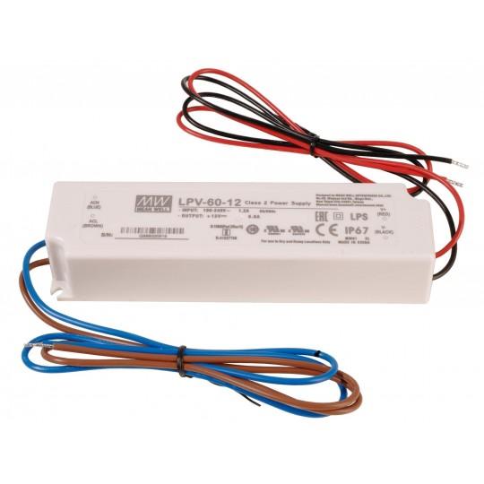 Meanwell 872614 LED-Betriebsger??t CV, LPV-60-12