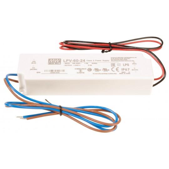 Meanwell 872615 LED-Betriebsger??t CV, LPV-60-24