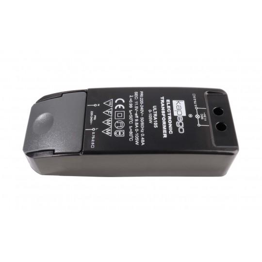 Deko-Light 180529 Trafo f??r NV-Lichtsystem/NV-Halogenlampe BASIC, DIM, CV, HALOGEN, Ultra105