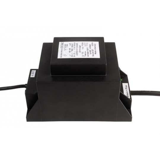 ABN 872046 Trafo f??r NV-Lichtsystem/NV-Halogenlampe LED Sicherheitstransformator, DIM, CV, 150VA/24V DC