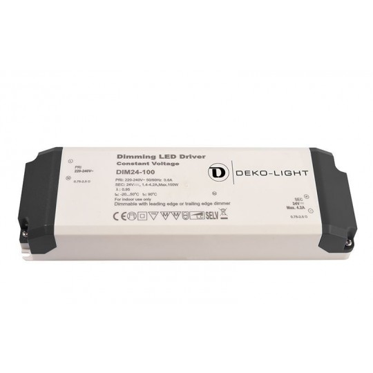 Deko-Light 862092 LED-Betriebsger??t BASIC, DIM, CV, 24V 34-100W