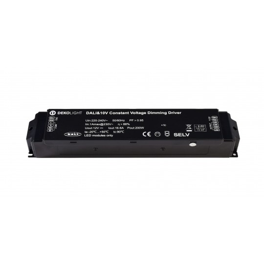 Deko-Light 862161 LED-Betriebsger??t BASIC, DIM, CV, 200AD-24V, DALI-Bus / Push / 1-10V