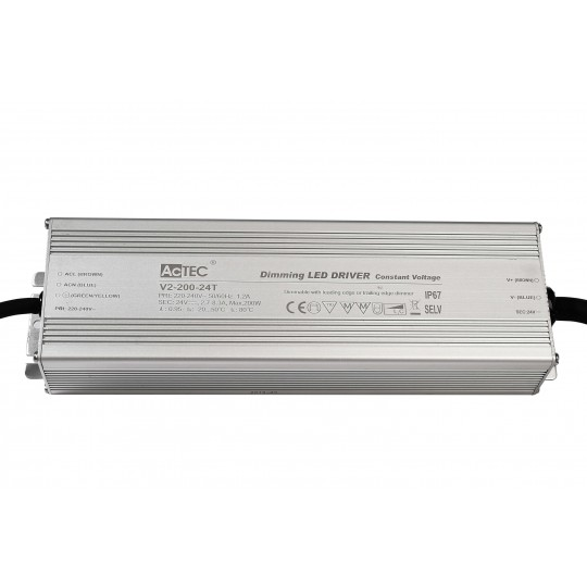 Deko-Light 872096 LED-Betriebsger??t IP, DIM, CV, V2-200-24T