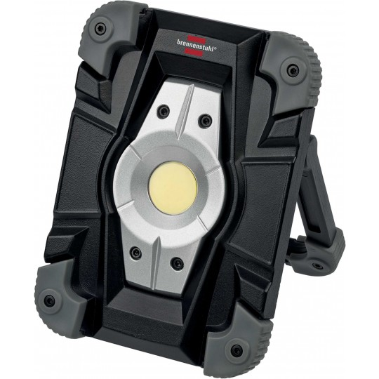 Brennenstuhl Akku LED-Arbeitsstrahler 10W max.1000lm IP54 mit USB schwarz/grau
