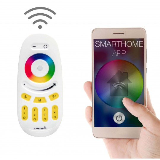 Fernbedienung Smartphone App RGB LED