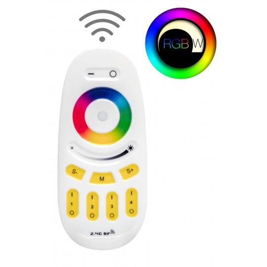 4 Zonen Funkfernbedienung für RGBW LED Streifen