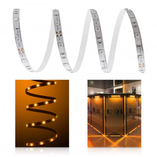 Classic 12V LED Streifen bernstein 30 LED/m