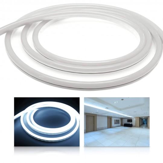 Premium 24V NeonFlex Kaltweiß LED Streifen 120 LED/m