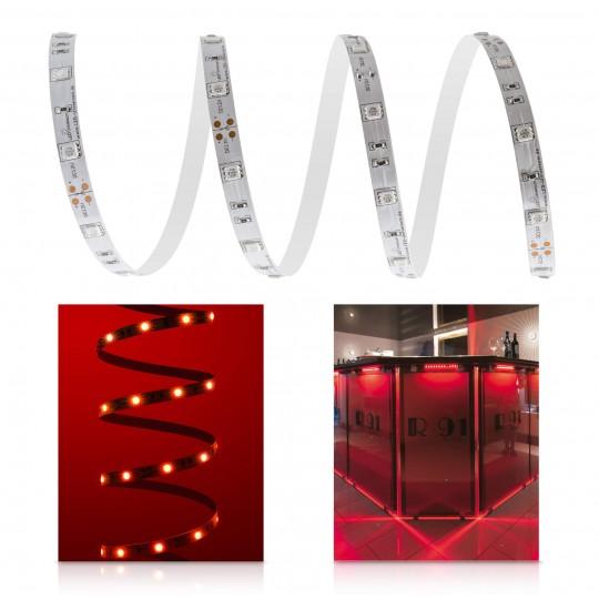 Classic 12V LED Streifen rot 30 LED/m