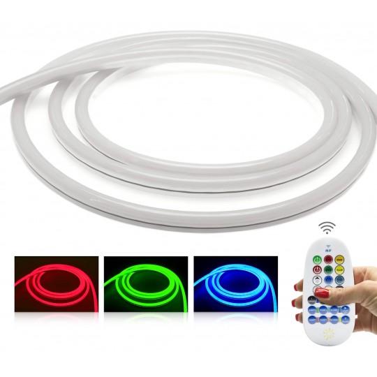 NeonFlex Pro230 RGB LED Streifen - mit Funkfernbedienung