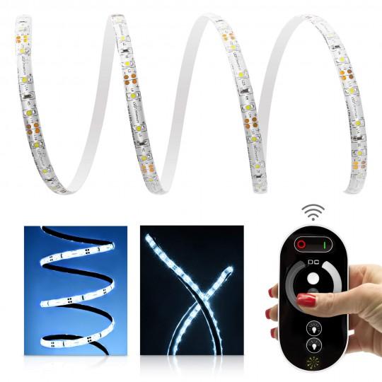 Comfort 12V LED Streifen Set kaltwei&szlig