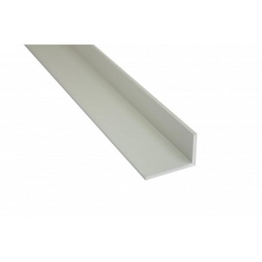 L-Leiste | 15 x 10mm | Brushed Aluminium - 1 Meter Länge
