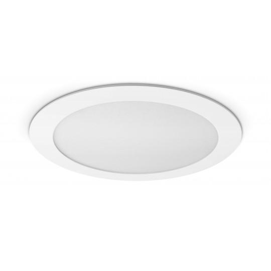 Rundes LED Panel - 18W - ausgeschaltet - Decke