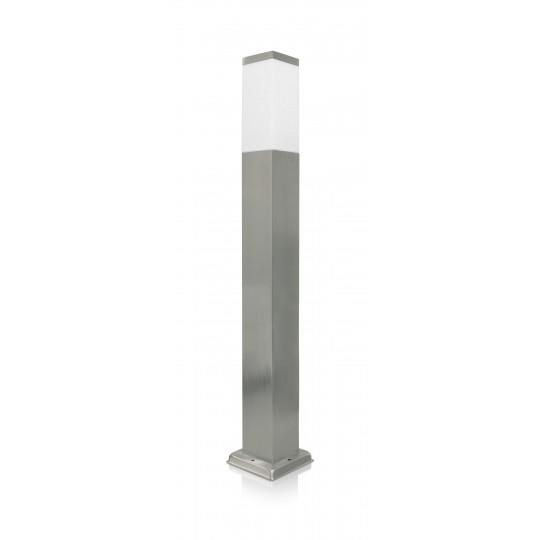 LED-Wegeleuchte silber edelstahl