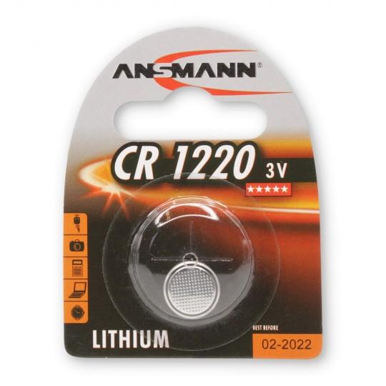 Lithium Knopfzelle CR1220 - Verpackung