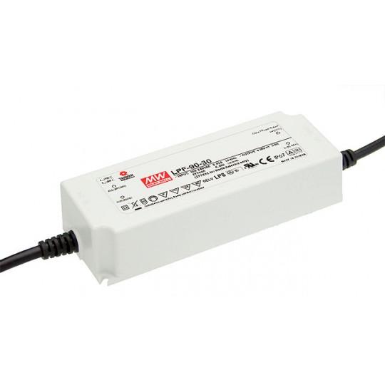 LED Netzteil MeanWell LPF-90-24 | Installationsnetzteil Default