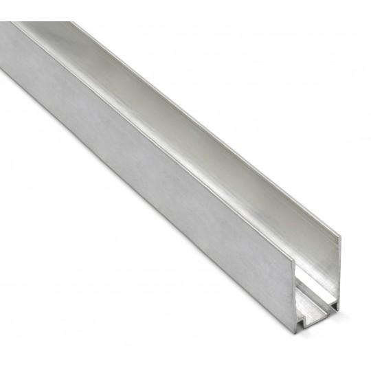 Aluminium U Profil für Neonflex Streifen 1m