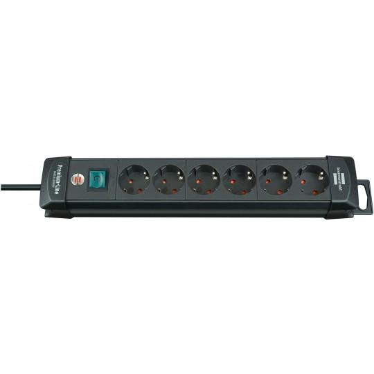 Brennenstuhl Premium Steckdosenleiste 6-fach mit Schalter