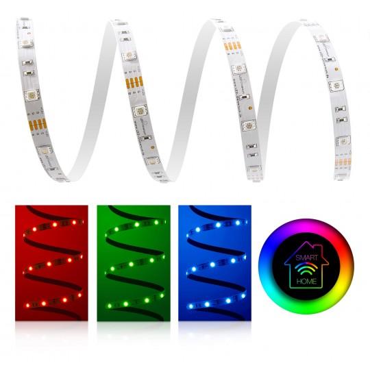 Classic RGB LED Streifen 30 LED/m - Smart Home Funk-Set