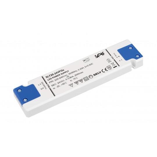Ultrathin Installationsnetzteil 20W 24VDC