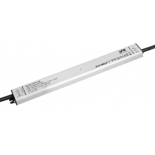 Metal-Slim Installationsnetzteil 30W 12VDC
