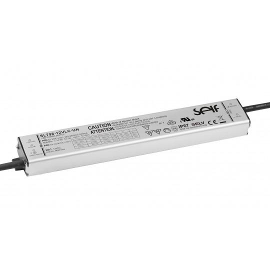 Metal-Slim Installationsnetzteil 96W 12VDC
