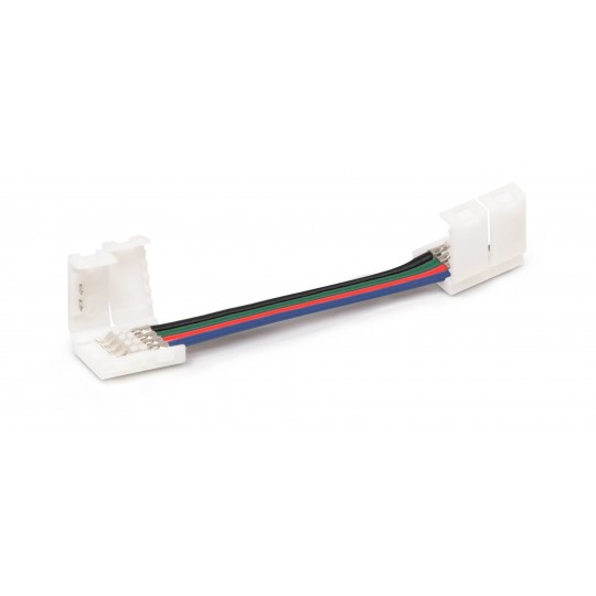 Verbinder 4 polig mit Klippbefestigung 5cm