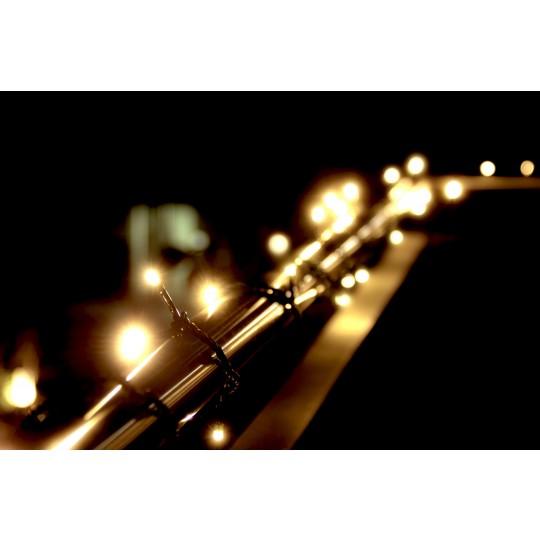 LED Lichterkette warmweiß mit 200 LEDs