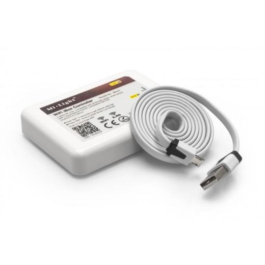 Wifi-Hub 4 Zonen LED Funkcontroller inkl. USB-Kabel