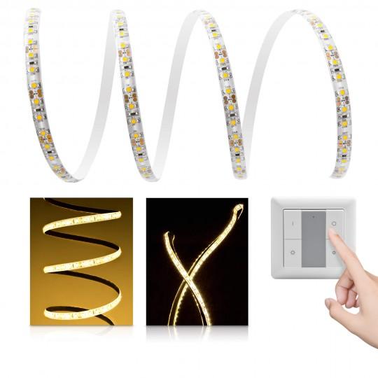 Comfort LED Streifen warmweiß 120 LED/m - mit Funklichtschalter