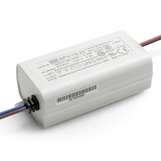 24 V DC LED Installationsnetzteil 12 W
