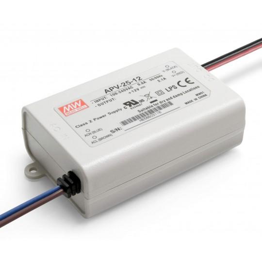 12 V DC LED Installationsnetzteil 25 W