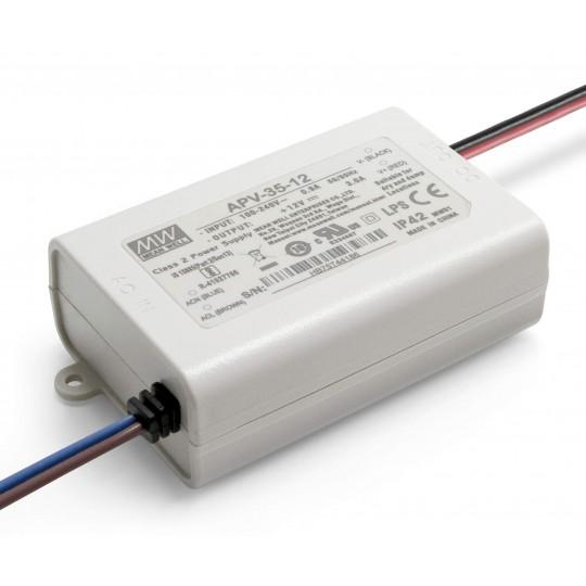 12 V DC LED Installationsnetzteil 35 W